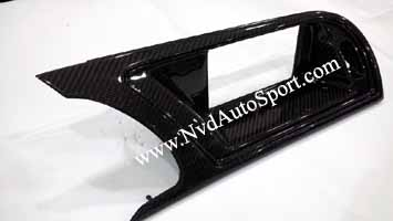 Audi A5 S5 RS5 8T carbon fiber Nav Screen Panel
