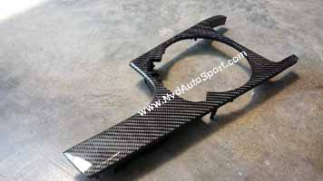 Audi TT TTs 8J Mk2 carbon fiber center console panel