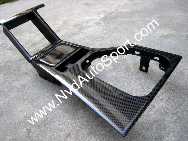 BMW E39 M5 carbon fiber center console