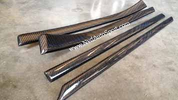BMW E39 M5 Carbon fiber interior door trims