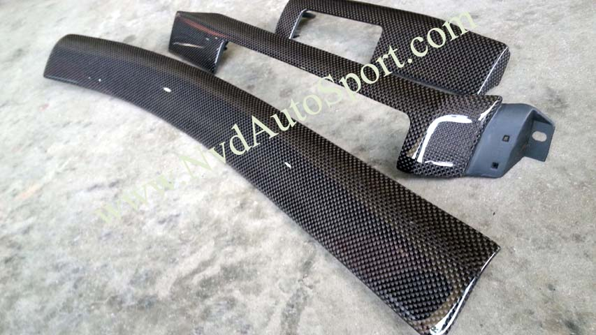 BMW E46 M3 Carbon fiber interior Dash trims
