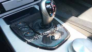 BMW E60 M5 Carbon fiber interior SMG panel