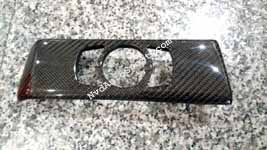 BMW E60 M5 carbon fiber interior headlamp switch panel