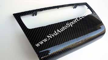 BMW E81 E82 E87 E88 1m Carbon fiber interior Radio Control Panel