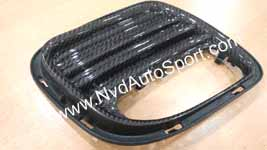 Mini R55 R56 R57 R58 R59 JCW Carbon fiber rear discharge grille