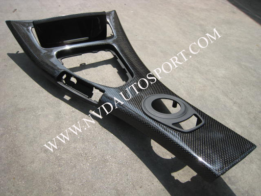 BMW E90, E92 M3 carbon fiber center console