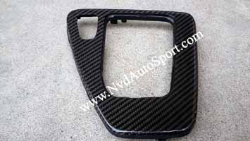 BMW E90 E92 M3 Carbon fiber gear selecting panel