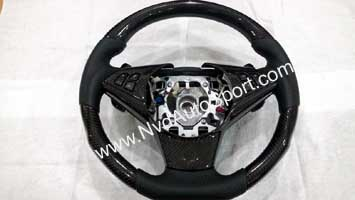 BMW E60 M5, E63 E64 M6 carbon fiber steering wheel