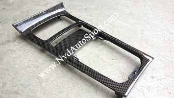Porsche Cayenne 958 Carbon fiber center console trim