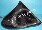 Toyota Supra Ganador carbon fiber side aero miror/ power mirror